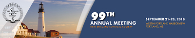 99th Annual Meeting, September 21-22, 2018, Portland, Maine
